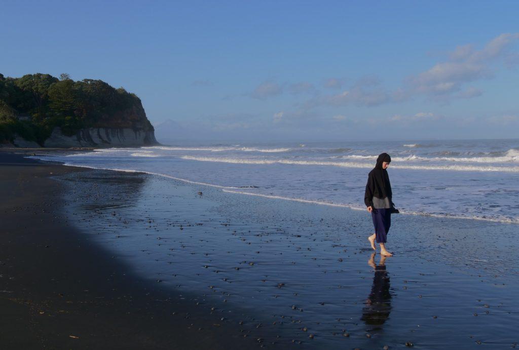 On Wai-iti Beach, New Zealand