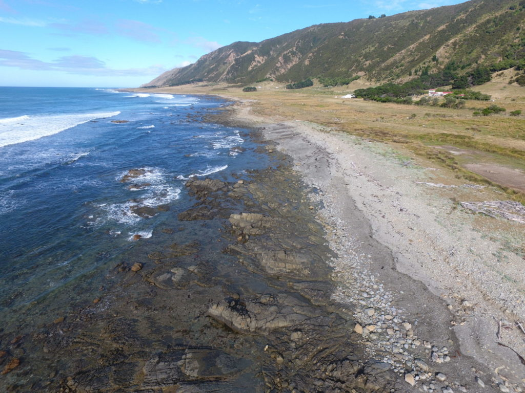 Tora shoreline