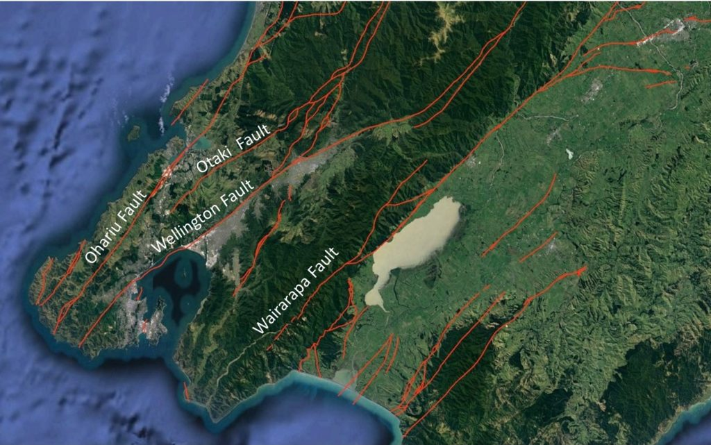 Active Faults in the Wellington Region