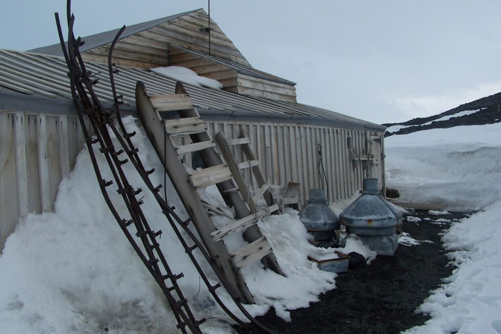 Scott's Hut at Cape Evans