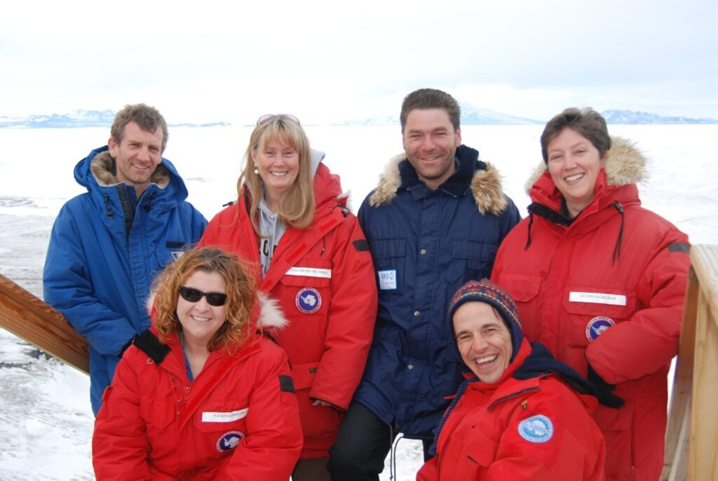 ANDRILL educators on the ice 2006