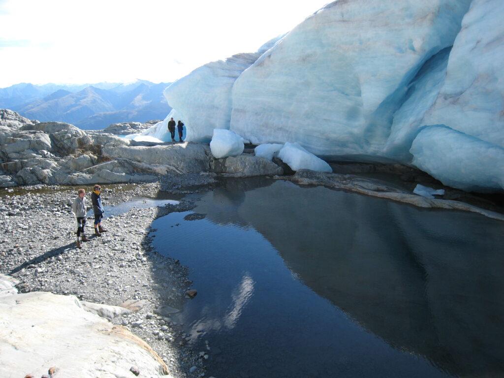 Brewster Glacier terminus