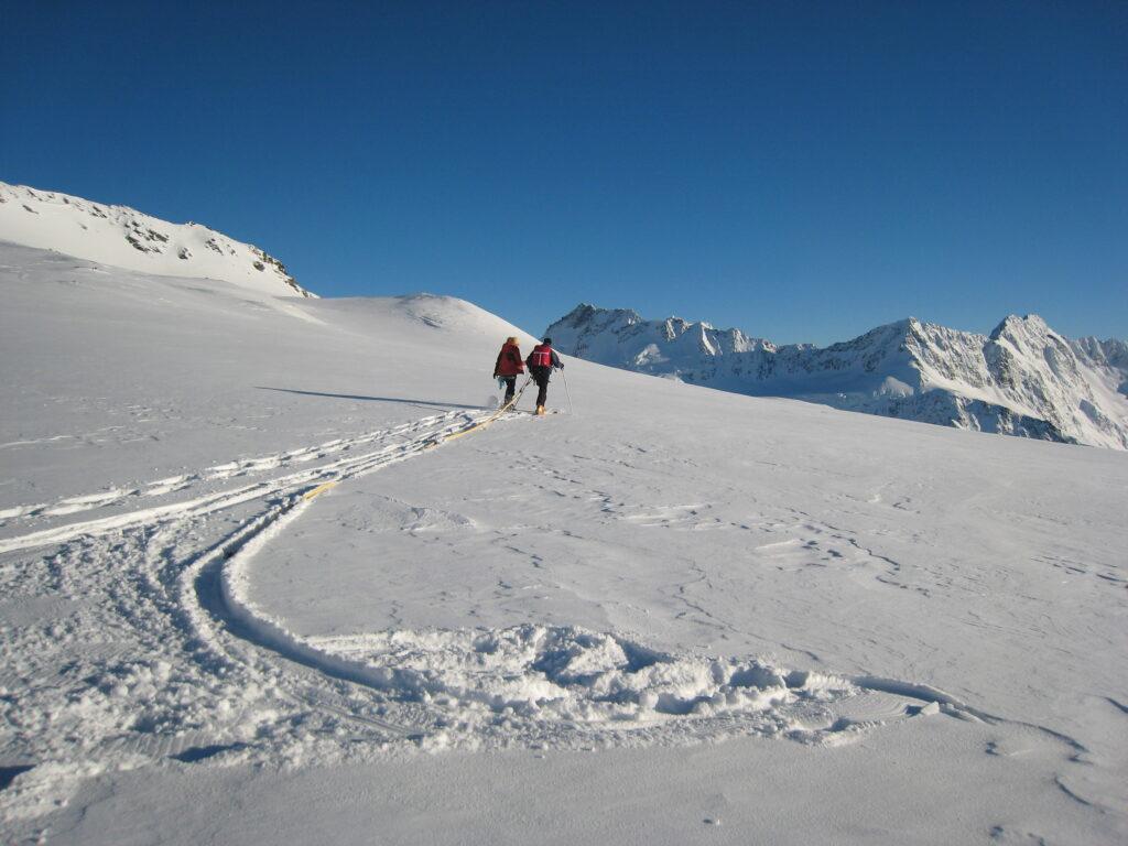 Radar Survey to measure ice depth on Annette Plateau