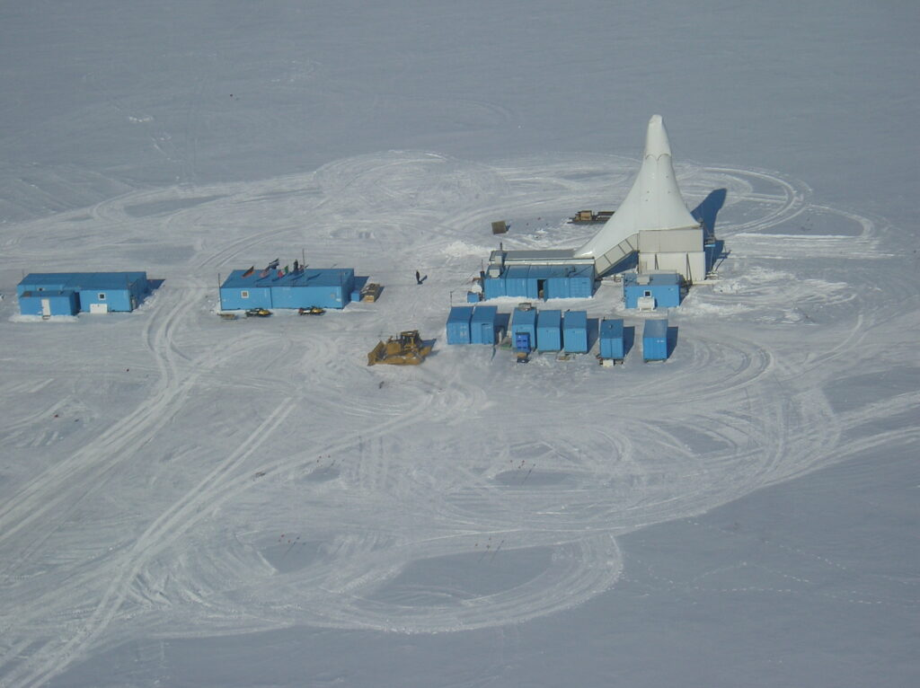 The ANDRILL drill site on the McMurdo Ice Shelf